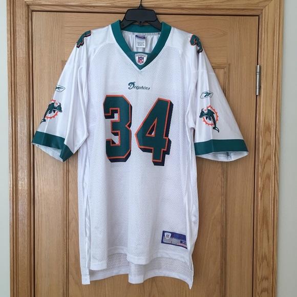 Reebok NFL Miami Dolphins Ricky Williams Jersey XL.  M 5b4cfecc409c15bd5c64e5ea 78b61fa6a